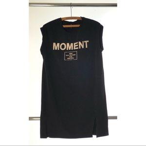 MOMENT T-shirt Dress